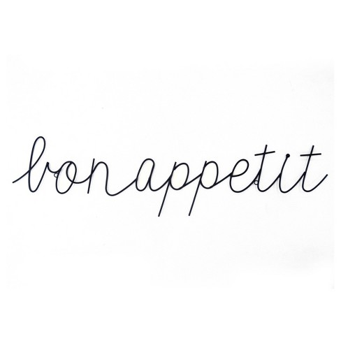 Bon Appetit Wire Wall Hanging - Threshold™ - image 1 of 2
