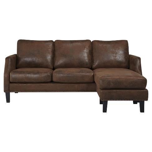 Austin Reversible Sofa Sectional - Abbyson - image 1 of 6