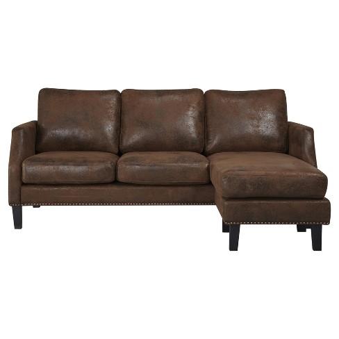 Austin Reversible Sofa Sectional Abbyson
