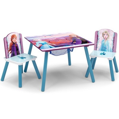 Disney Frozen 2 Table and Chair Set with Storage - Delta Children