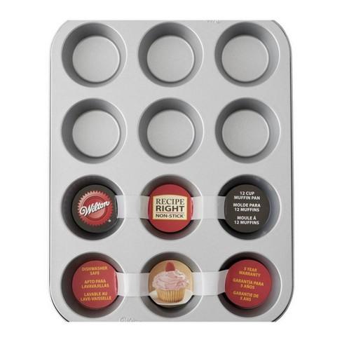 "Recipe Right 3""X1"" Standard Muffin Pan-12 Cavity - image 1 of 1"