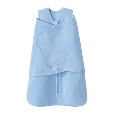 Halo Sleepsack Swaddle Microfleece - Baby Blue Newborn