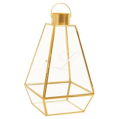 L  Gold Metal Unity Lantern