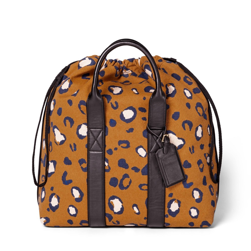 Image of Leopard Print Drawstring Carryall Bag - 3.1 Phillip Lim for Target Tan, Girl's, Size: Small, Brown