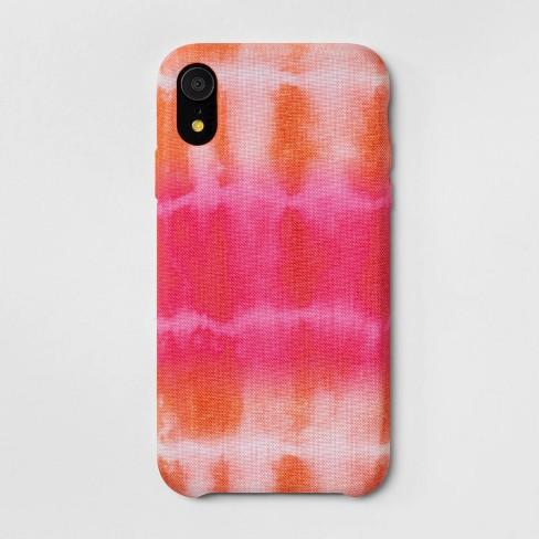 buy popular aabaf e8c74 heyday™ Apple iPhone XR Tie Dye Case - Pink/Orange