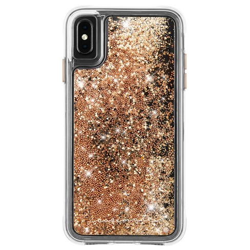 Case Mate Apple Iphone Xs Max Waterfall Case Gold Target