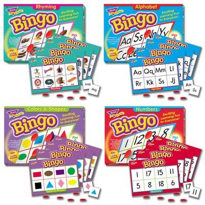 Trend Enterprises Bingo Games - Set of 4
