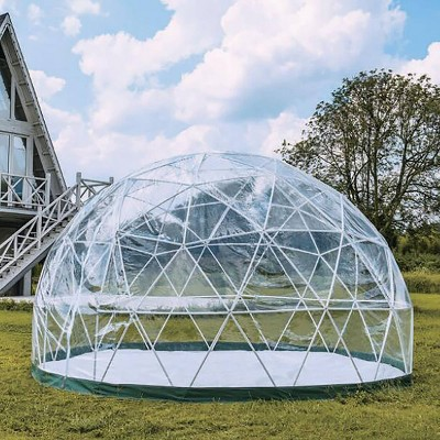 7'x12' Outdoor Dome with Shell & PVC Cover - TOYtally Awesome