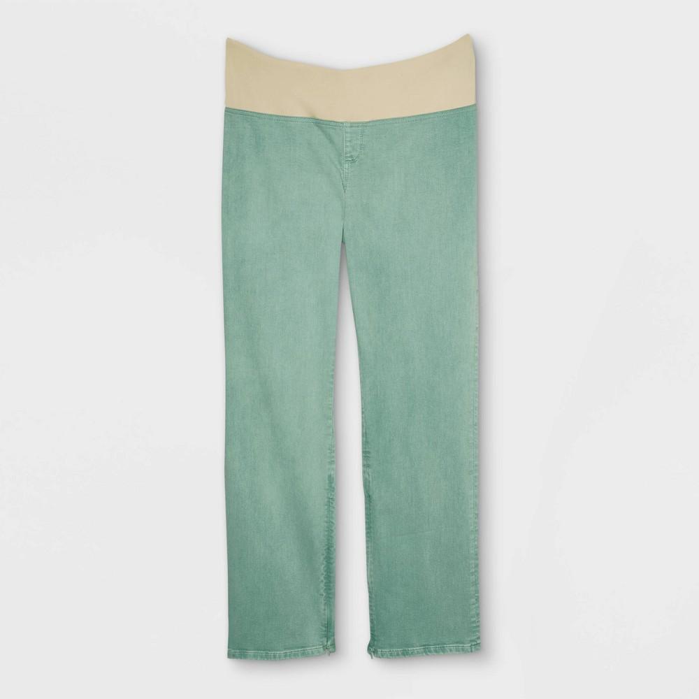 Women 39 S Plus Size Adaptive Bootcut Jeans Universal Thread 8482 Green 14w