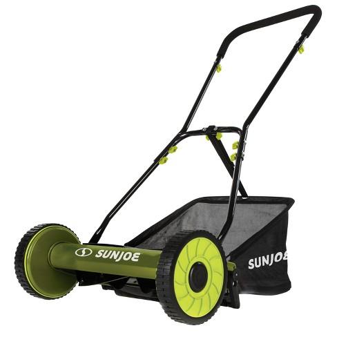 Sun Joe MJ500M Manual Reel Mower w/ Grass Catcher | 16 inch - image 1 of 4