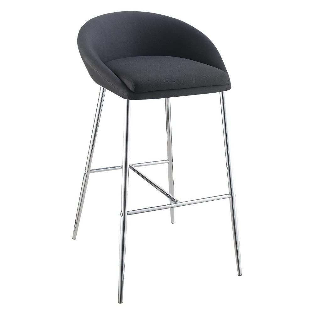 30.25 Private Reserves Set of 2 Bar Stool Black