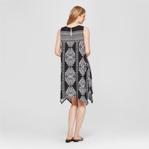 9fca2ec7c396f Women's Floral Print Halter Neck Dress - John Paul Richard - Black L :  Target