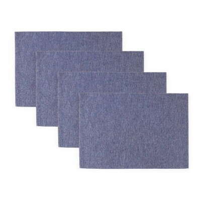 "4pk 13""X19"" Somers Placemats Blue - Town & Country Living"