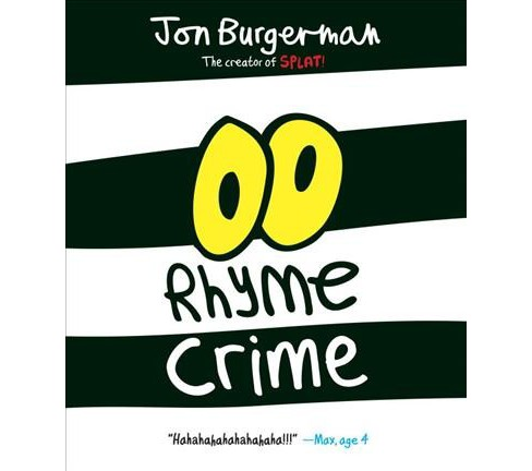 Rhyme Crime -  by Jon Burgerman (School And Library) - image 1 of 1
