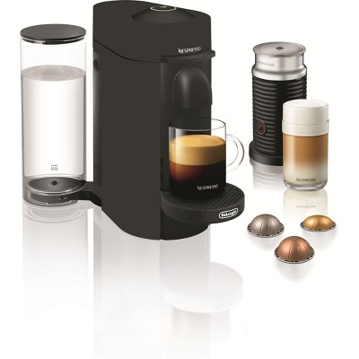 Nespresso VertuoPlus Limited Edition Bundle Coffee and Espresso Maker - Matte Black