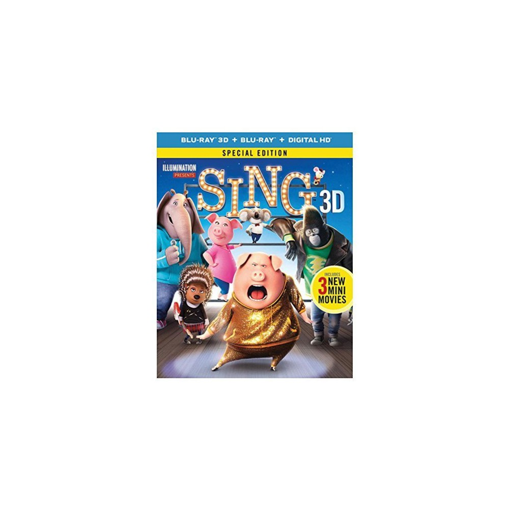Sing 3d (Blu-ray), Movies