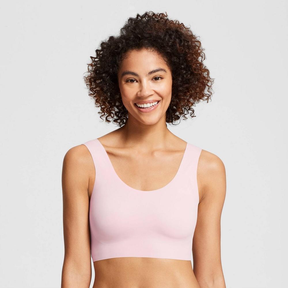 True & Co. True Everybody Women's Scoop Neck Bra - Pale Pink 2X