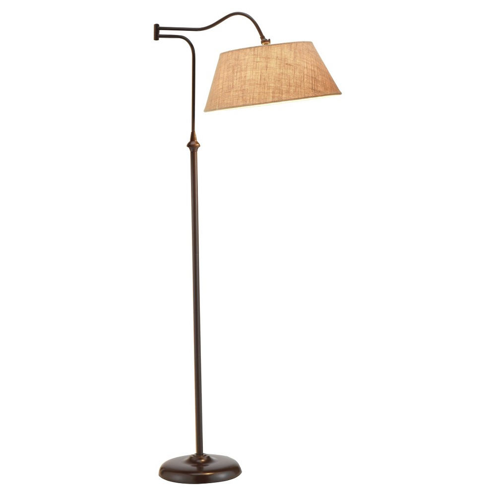 Image of Adesso Rodeo Floor Lamp - Brown