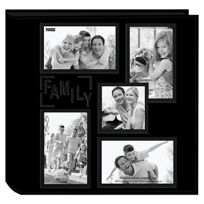 Embossed Collage Frame 5 Up Photo Family Album