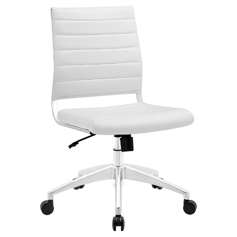 Office Chair Modway Winter White - image 1 of 4
