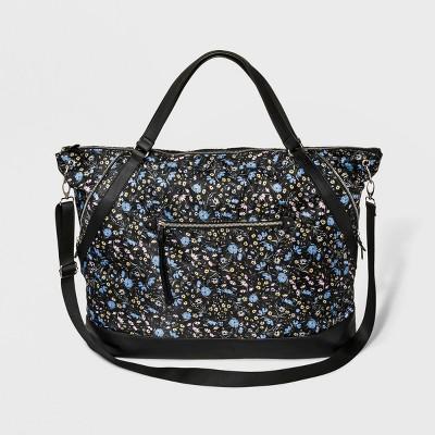 Zip Closure Weekender Bag - Wild Fable™ Black