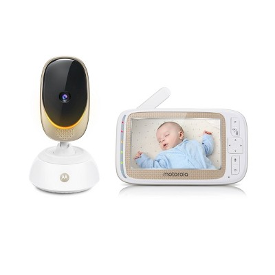 "Motorola 5"" WiFi Baby Digital Video Monitor With PTZ Camera"