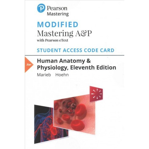 Human Anatomy Physiology Modified Mastering Ap With Pearson Etext
