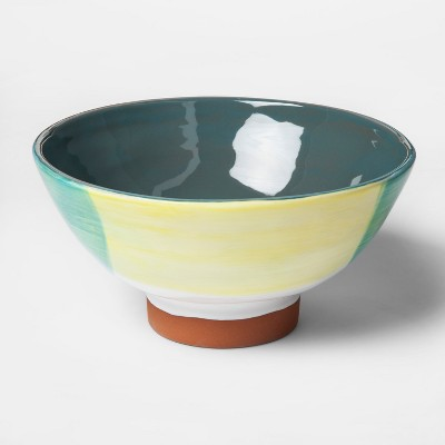 Stoneware Hand Painted Footed Bowl - Project 62™