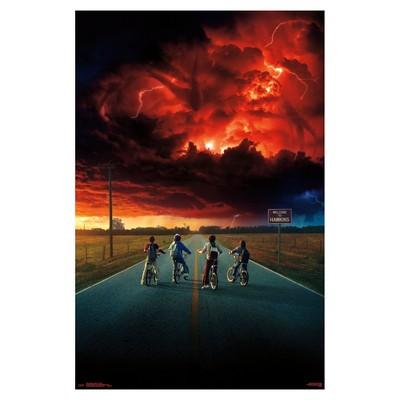 Stranger Things 2 Key Art Poster 34x22 - Trends International