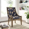 Rhett Accent Chair with Dog Pattern - Linon - image 4 of 4