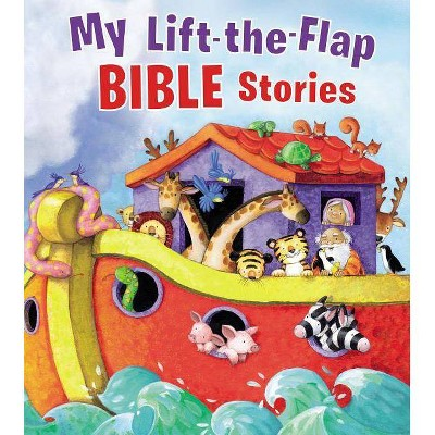 My Lift-The-Flap Bible Stories - by Thomas Nelson (Board_book)