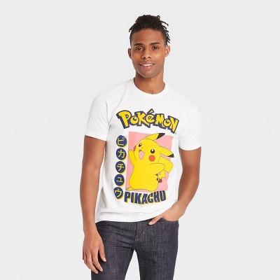Men's Pokemon Pikachu Short Sleeve Graphic T-Shirt - White