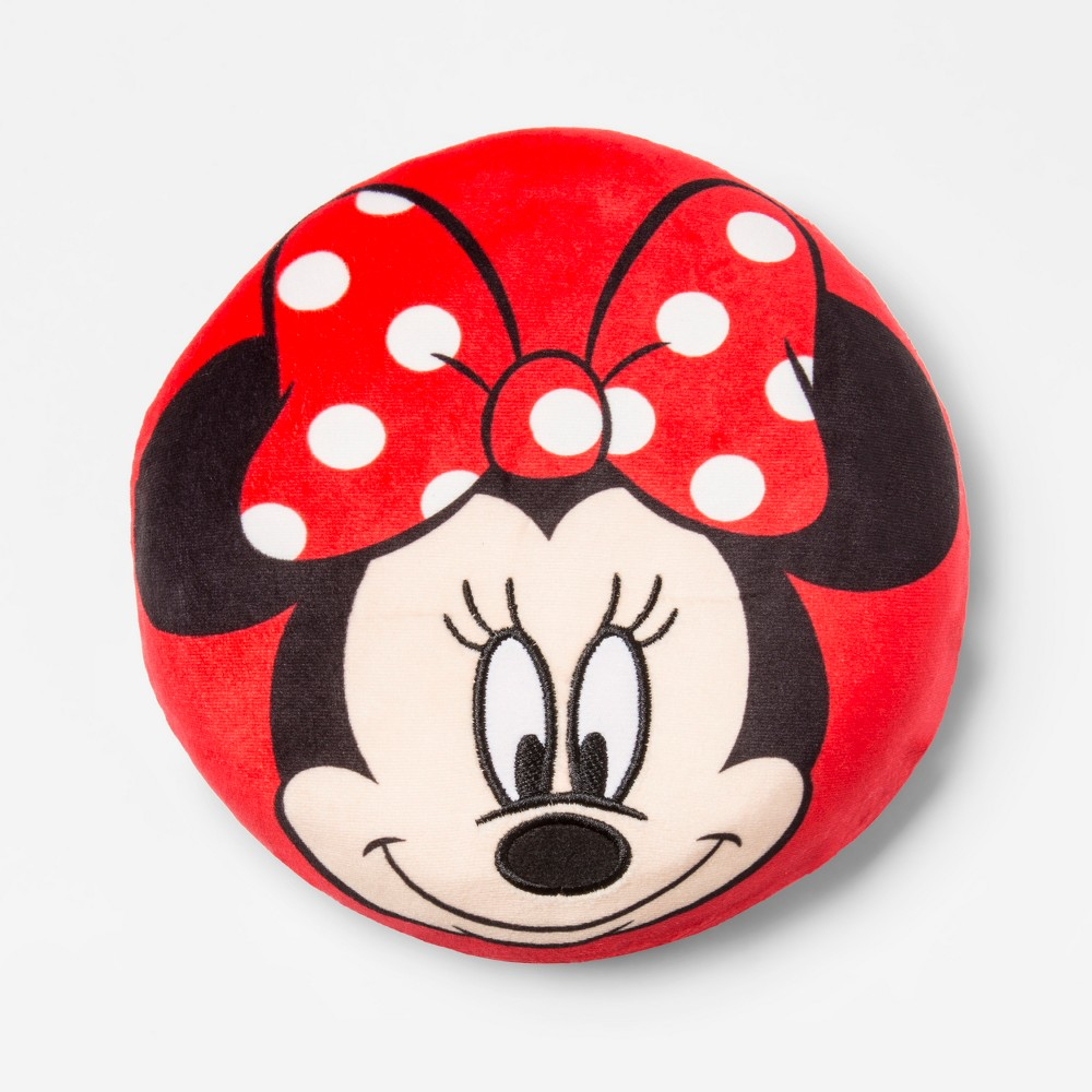 Image of Mickey Mouse & Friend Minnie Mouse Squishy Throw Pillow, Pink