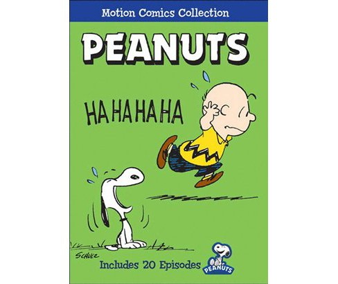 Peanuts:Motion comics collection (DVD) - image 1 of 1