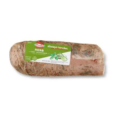 Hormel Herb Dry Seasoned Pork Loin Filet - 24oz