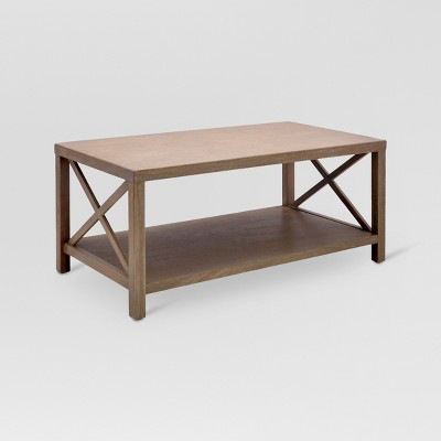 Owings Coffee Table Rustic - Threshold™