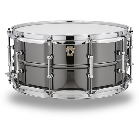 Ludwig Black Beauty Snare Drum with Tube Lugs 14 x 6.5 in. - image 1 of 3