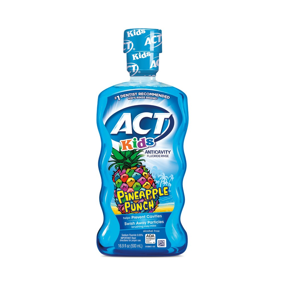 Image of Act Kids Pineapple Punch Mouth Wash - 16.9 fl oz
