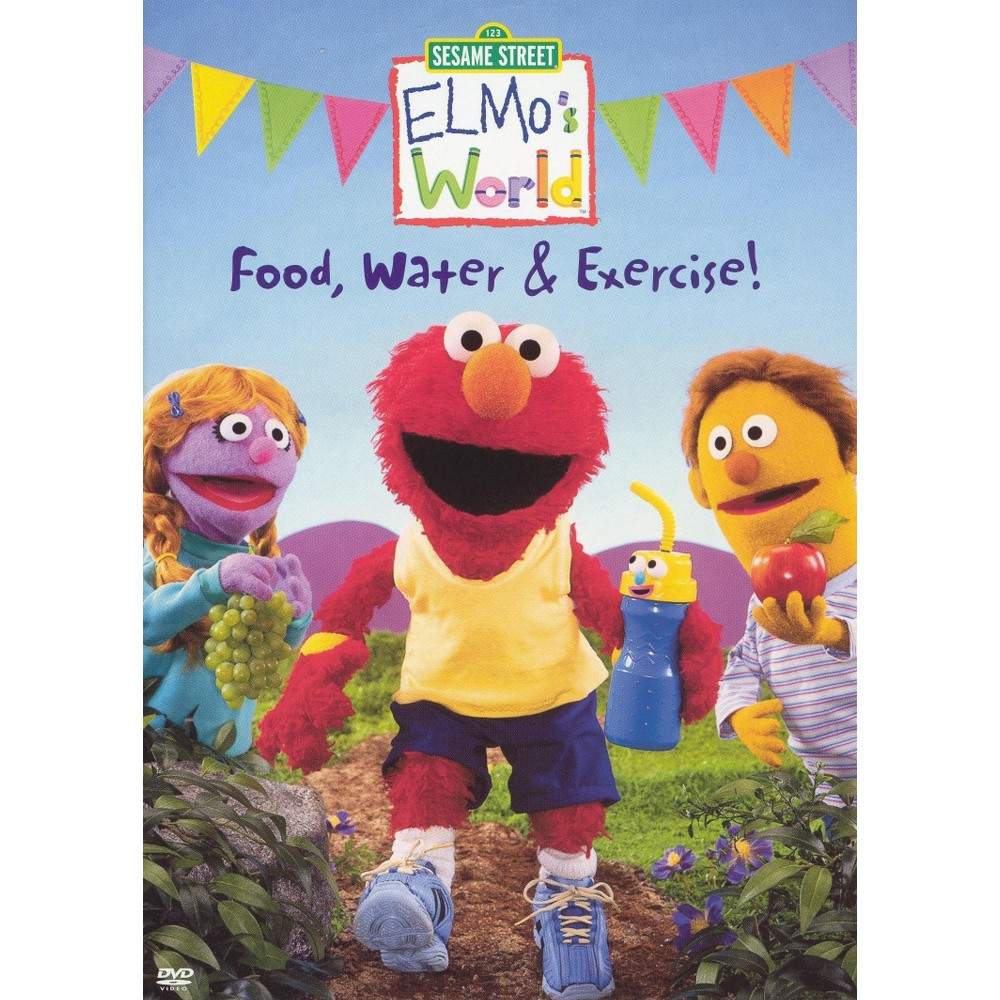 Elmo's World:Food Water & Exercise (Dvd)