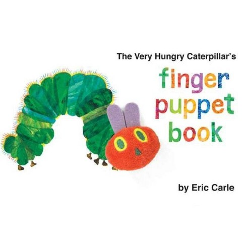 The Very Hungry Caterpillar's Finger Puppet Book - (World of Eric Carle) by  Eric Carle (Board_book) - image 1 of 1