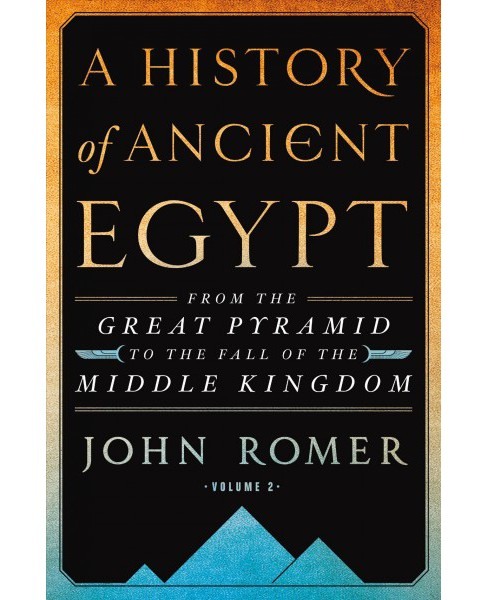 History of Ancient Egypt : From the Great Pyramid to the Fall of the Middle Kingdom (Vol 2) (Hardcover) - image 1 of 1