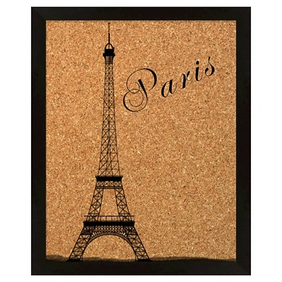 "18"" x 22"" Paris With Eiffel Tower Memory Board - PTM Images"