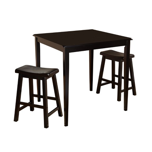 3pc Atmore Saddle Counter Height Set - Buylateral - image 1 of 2