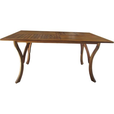 Hermosa Rectangular Acacia Wood Dining Table - Christopher Knight Home