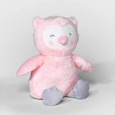 Baby Girls' Owl Beanbag Plush - Just One You® made by carter's Pink
