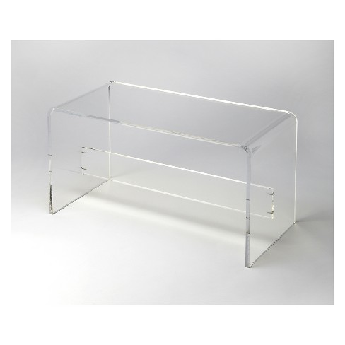 Butler Specialty Crystal Bench Clear Acrylic - image 1 of 2