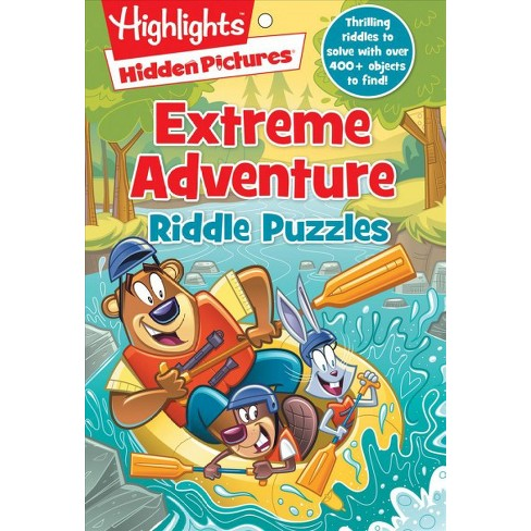 Extreme Adventure Riddle Puzzles - (Highlights(tm) Hidden Pictures(r)  Riddle Puzzle Pads) (Paperback)