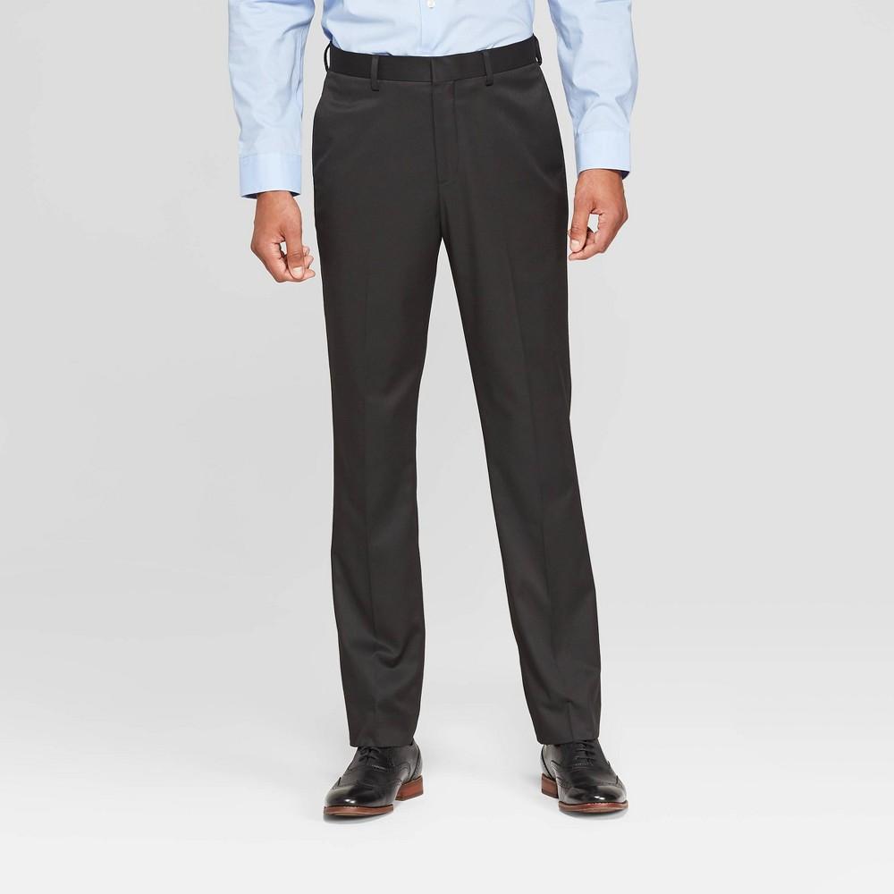 Men S 28 Slim Fit Suit Pants Goodfellow Co 8482 Black 40x28