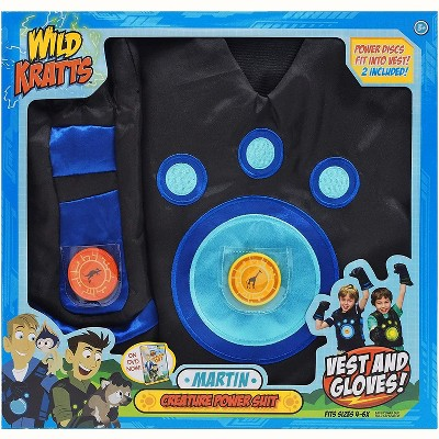 Jazwares Wild Kratts Creature Power Suit - Martin, 6-8x