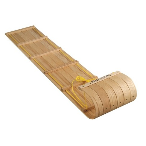 Flexible Flyer Canadian Toboggan - Natural (6') - image 1 of 4